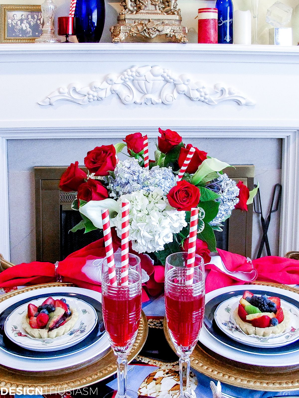 Summer Party Decorations 6 Colorful Tablescape Ideas Summer Party Decorations Table Decorations Patriotic Decorations