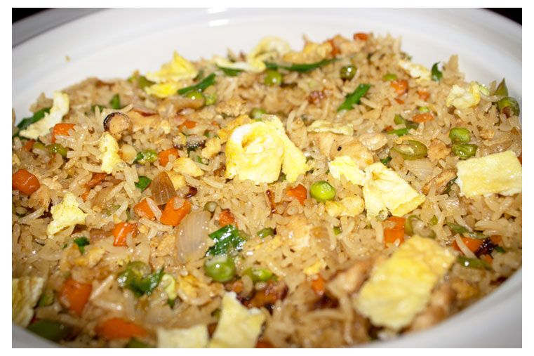 Chicken Fried Rice Is An Excellent Chinese Comfort Food Which Can Be Served Either As A Main