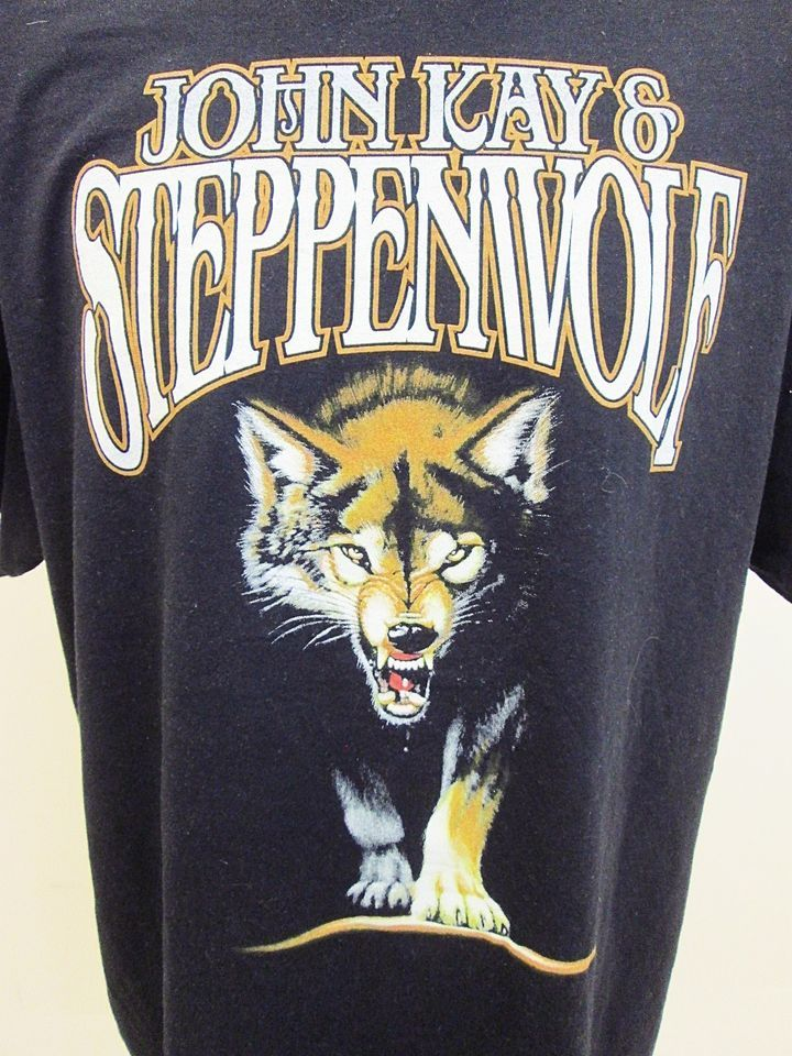 Vintage Clothing Steppenwolf Rock Band Born To Be Wild