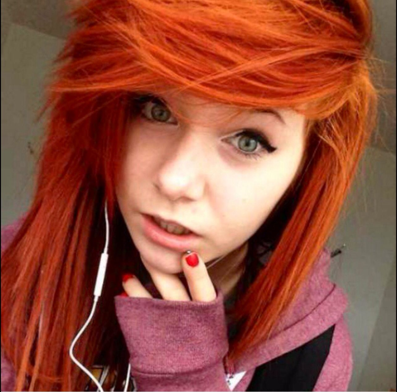 Pin by ceirra jade on hair pinterest scene hairstyles emo and
