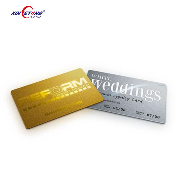 Customized Cmyk Printing Loyalty Membership Card With Vivid