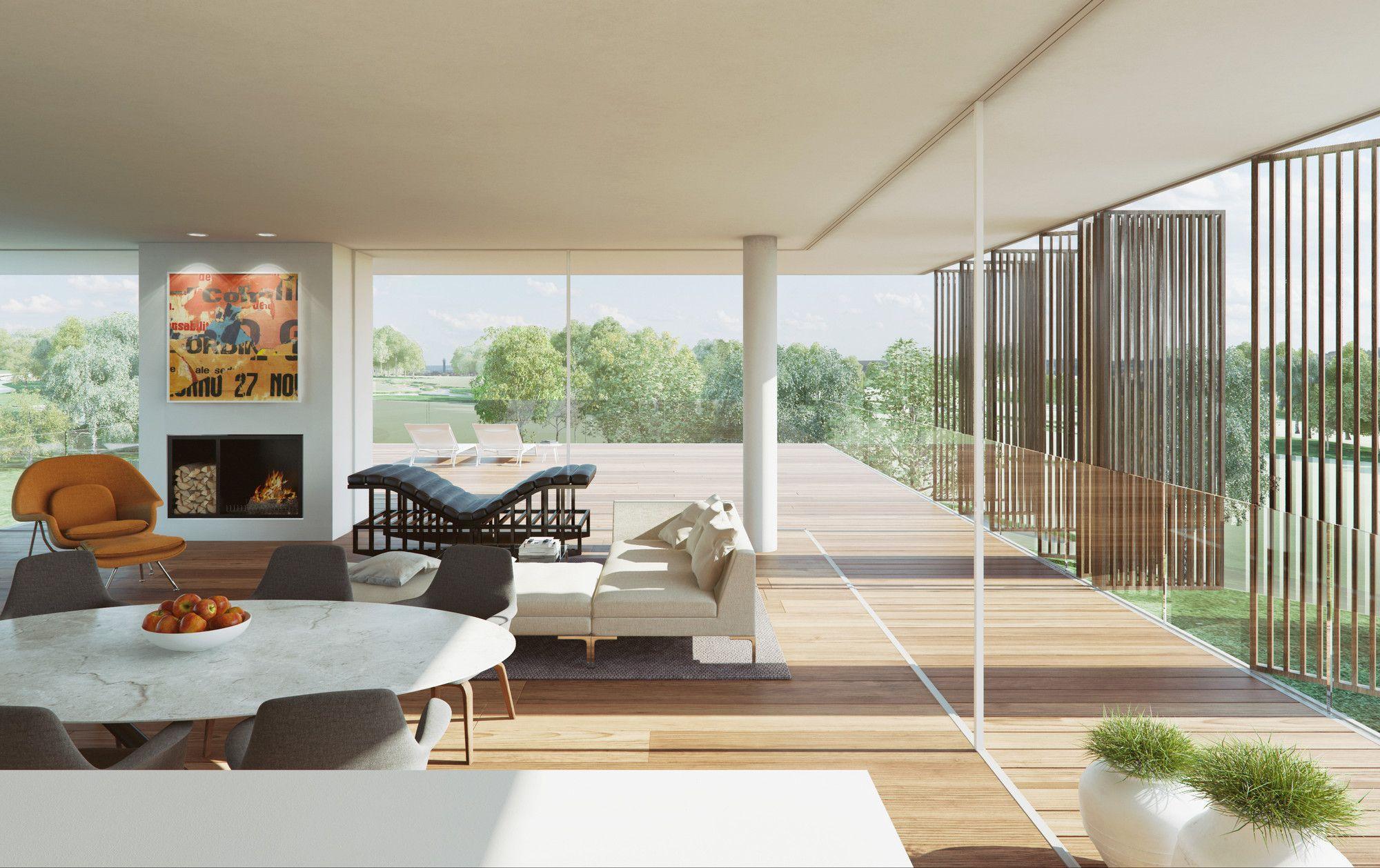 Gallery - Jiřičná, Meier And Pawson Appointed To Design Residential Development Near Prague - 6