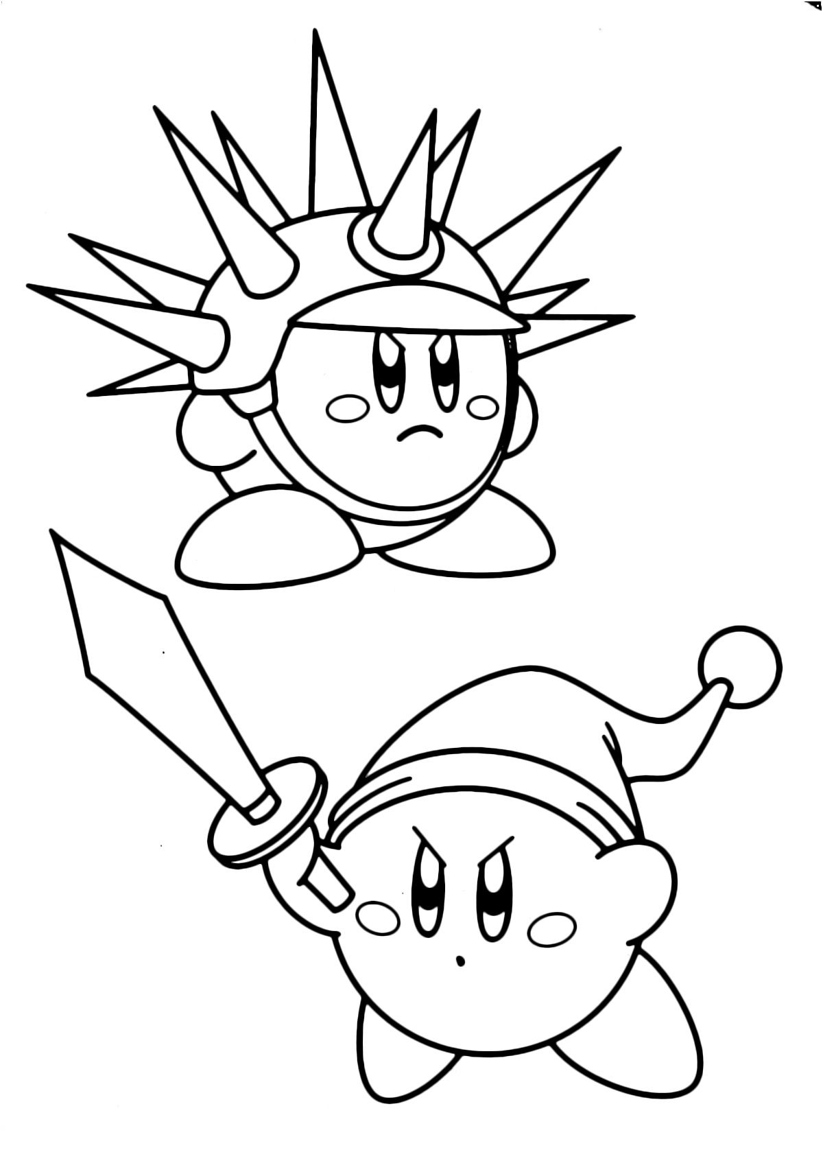 15 classique coloriage kirby pictures in 2020  kostenlose