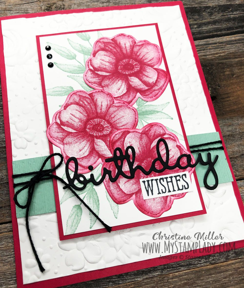 Stampin Up Sale A Bration Painted Seasons Bundle With Well Wishes