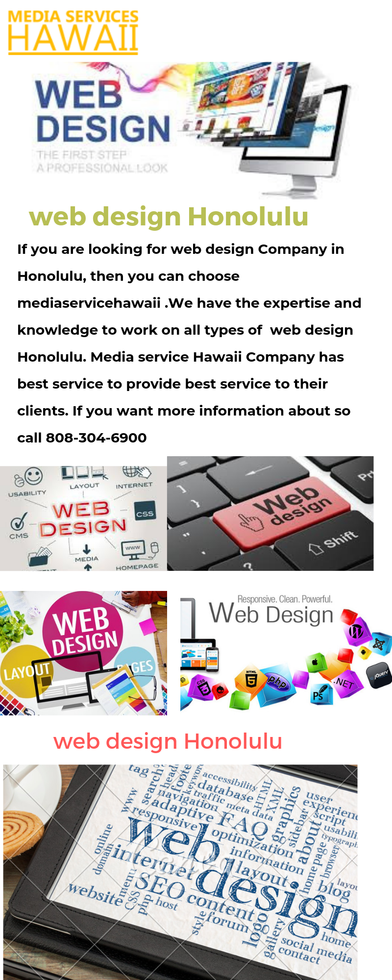 Lead Generation Honolulu Local Business Social Media Advertising With Images Web Design Web Design Company Social Media Business