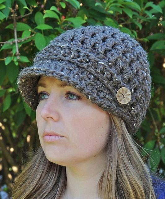 Ravelry: Newsboy Hat pattern by Erin Hansen | Knit wit :P ...