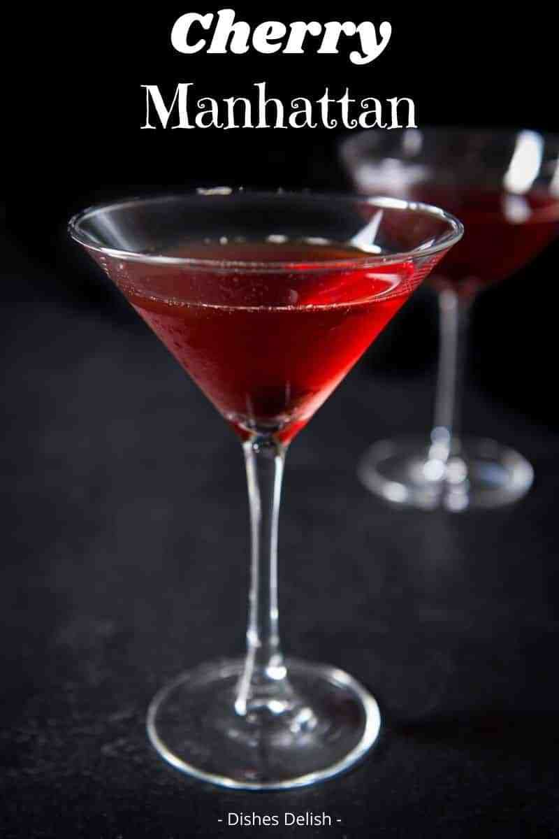This Cherry Manhattan Is Robust And So Full Of Flavor That It May Ruin A Regular Manhattan Forever For Y In 2020 Cherry Drink Aromatic Bitters Vodka Cranberry Cocktail