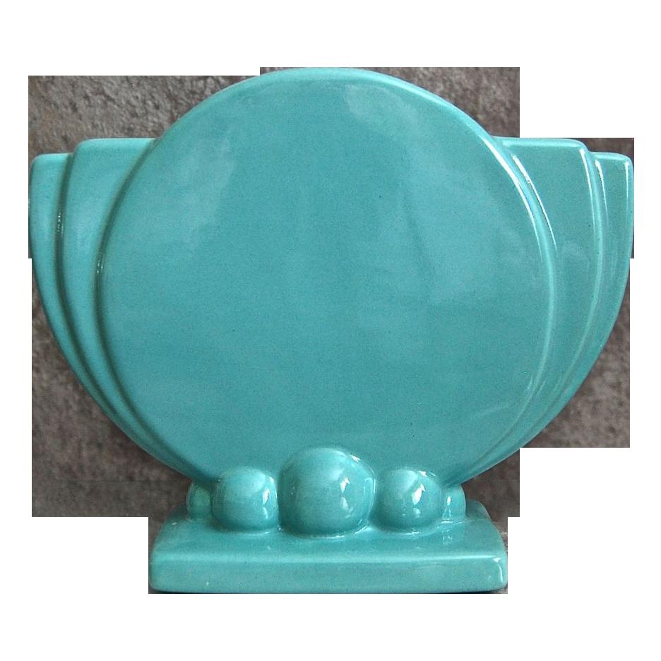 Haeger pottery art deco pillow vase circa 1940 pottery art art haeger pottery art deco pillow vase circa 1940 floridaeventfo Image collections