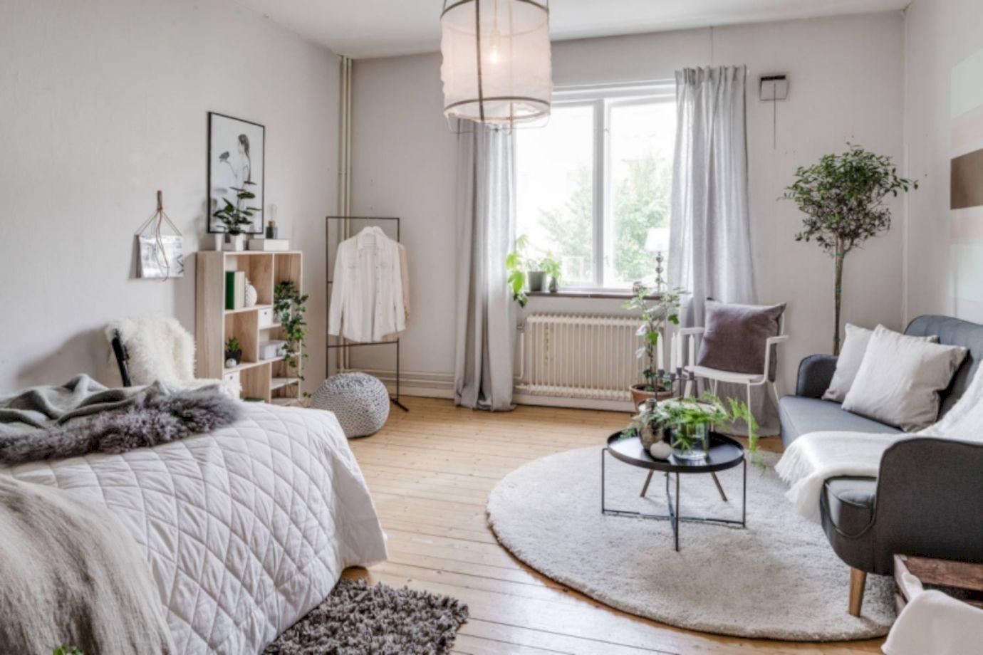 Small 1 Bedroom Apartment Decorating Ideas 50 Cozy ...