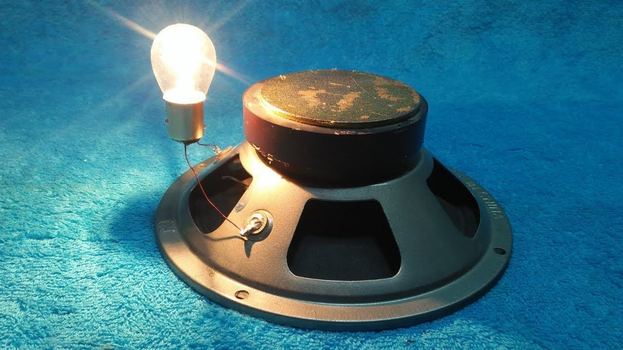 Make a Free Energy With Speaker And Copper Wire 200% Real