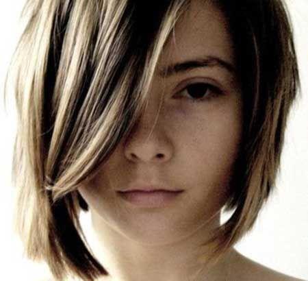 Women Haircuts Short In Back Longer In Front Haircuts Short In