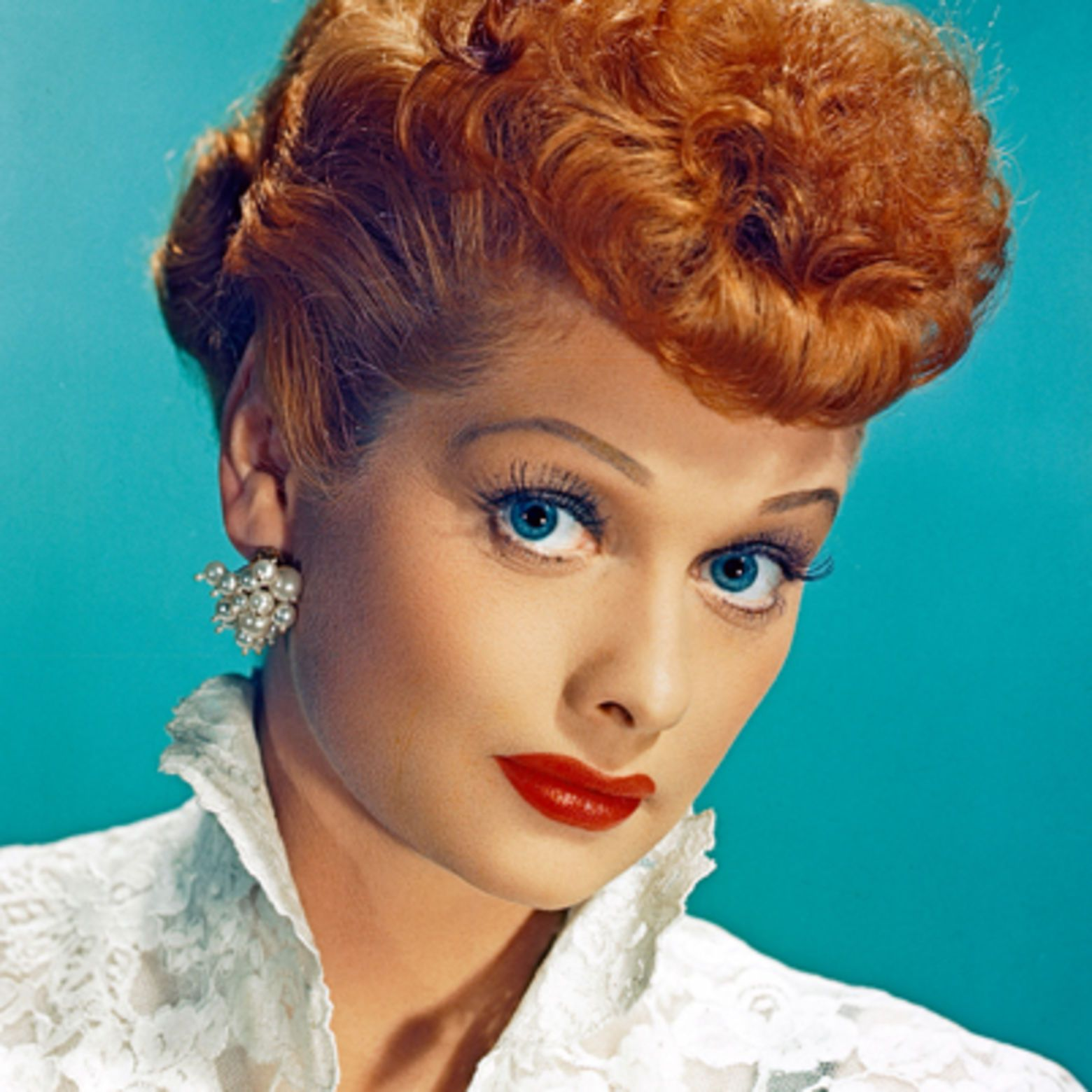 A beautiful actress renowned for her comedic chops, Lucille Ball made TV history on camera and behind the scenes. Learn more at Biography.com.
