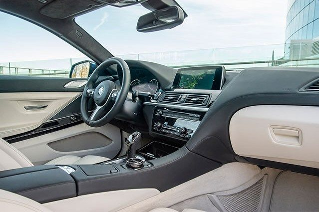 Bmw 6 Series Facelift 2015 Interior With Images Bmw 6 Series