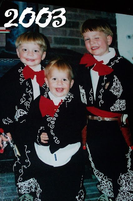three amigos family halloween costume