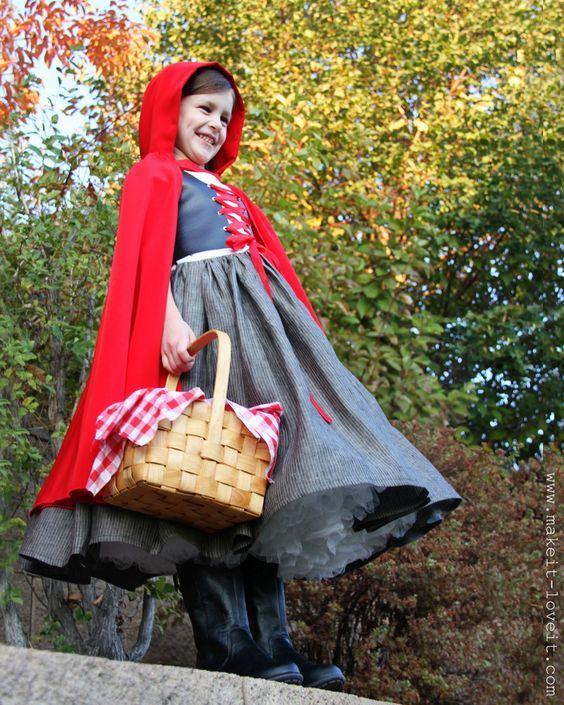 tuto petit chaperon rouge anglais: | Déguisement | Pinterest ...