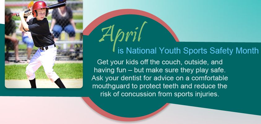 April is National Youth Sports Safety Month Youth sports
