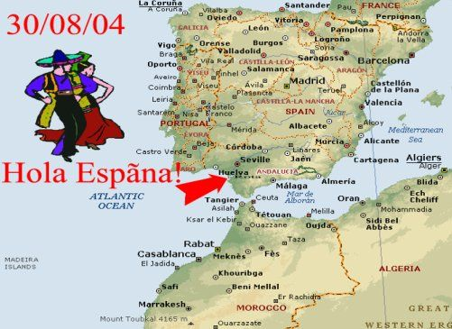 rota spain map Google Search Space A Travel