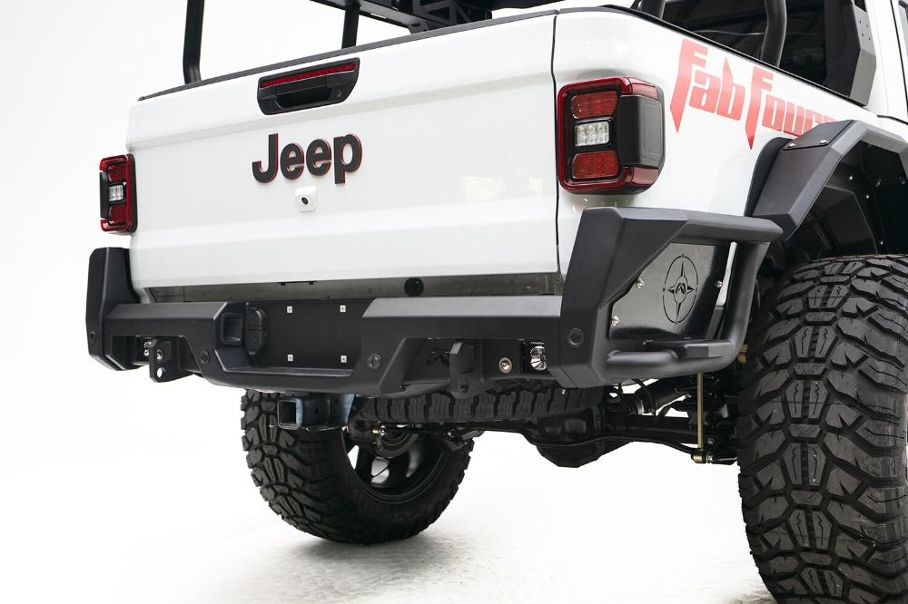 Fab Fours Rear Bumper for 2020 Jeep Gladiator JT in 2020