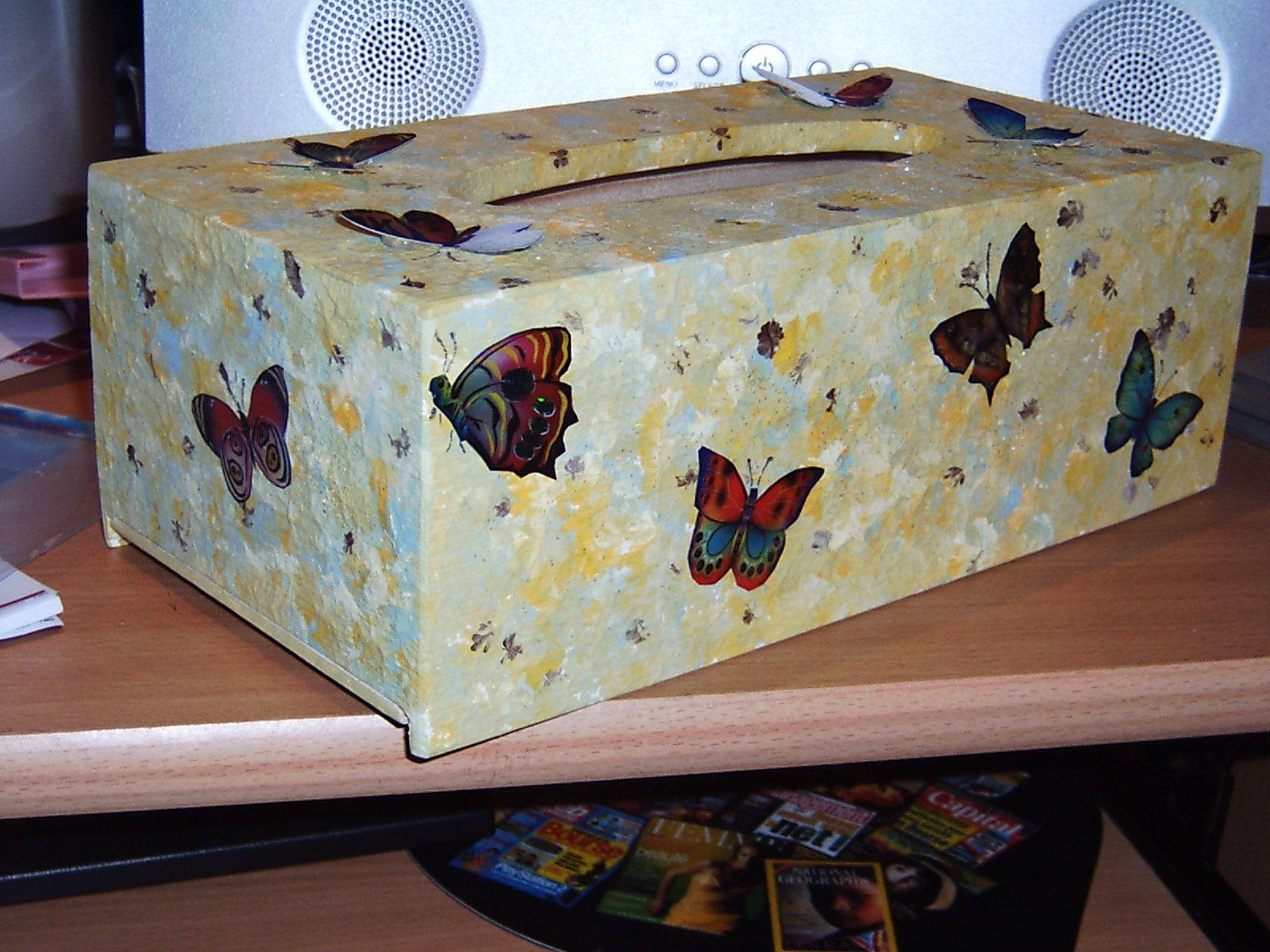boite mouchoirs d cor es caixa de len o pinterest caja de madera cajas y madera. Black Bedroom Furniture Sets. Home Design Ideas