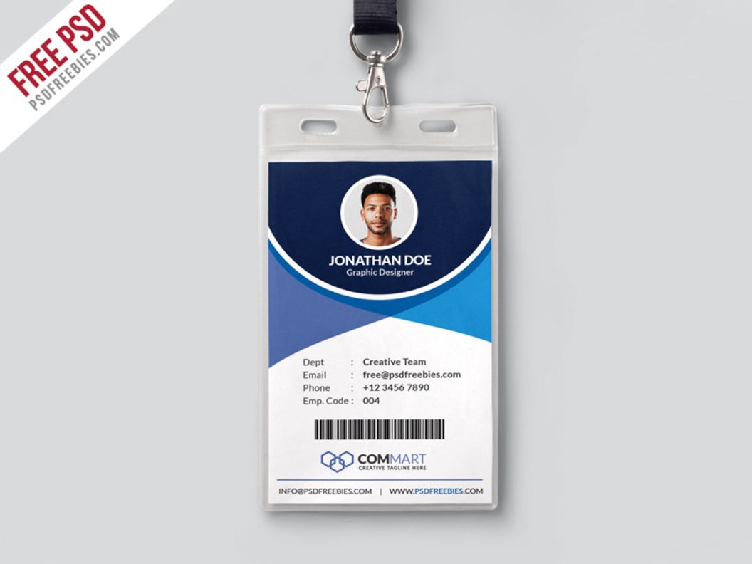 Corporate Office Identity Card | idea1 | Pinterest