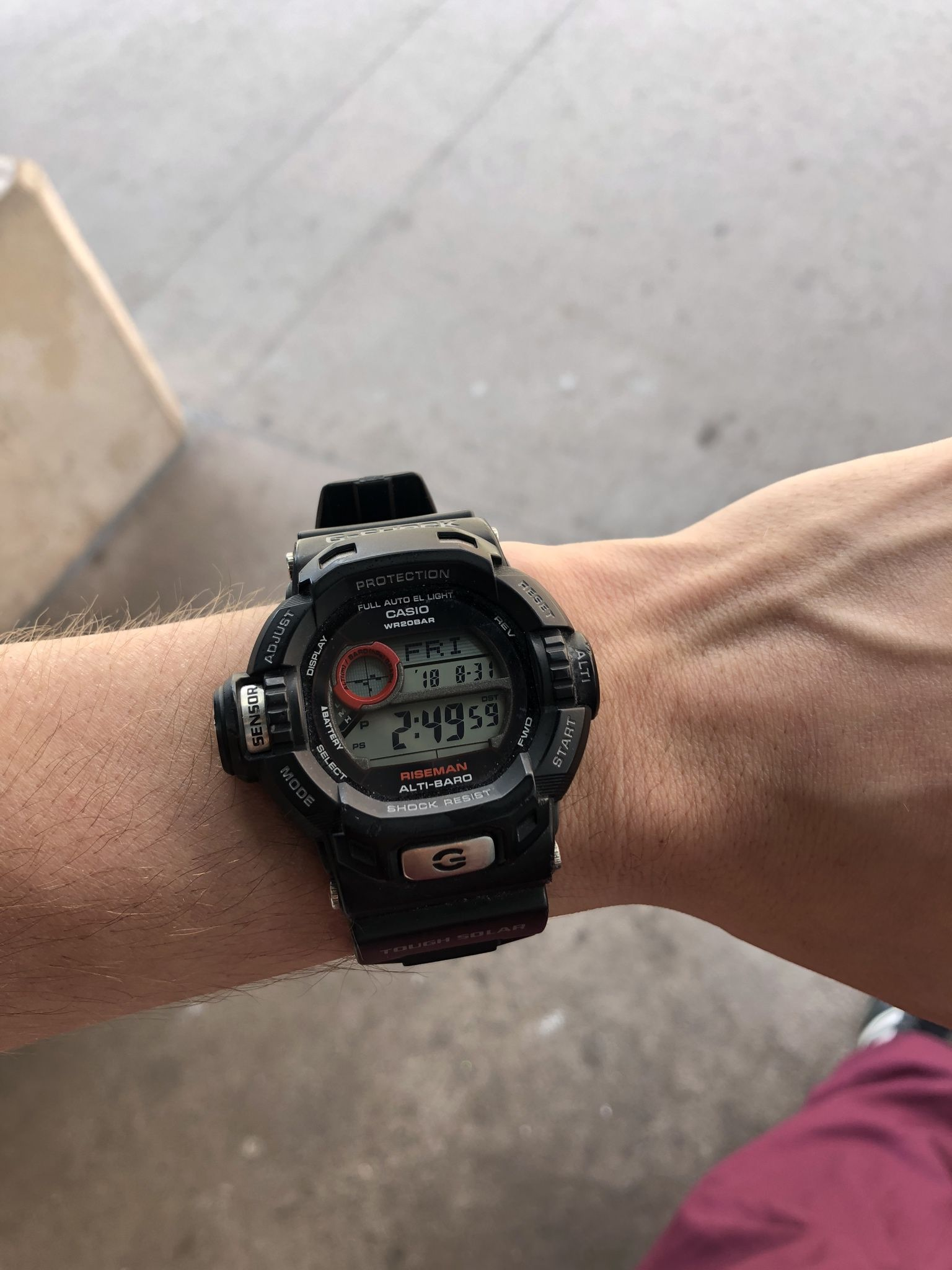 994c72ed0bf G-Shock Riseman  Old reliable