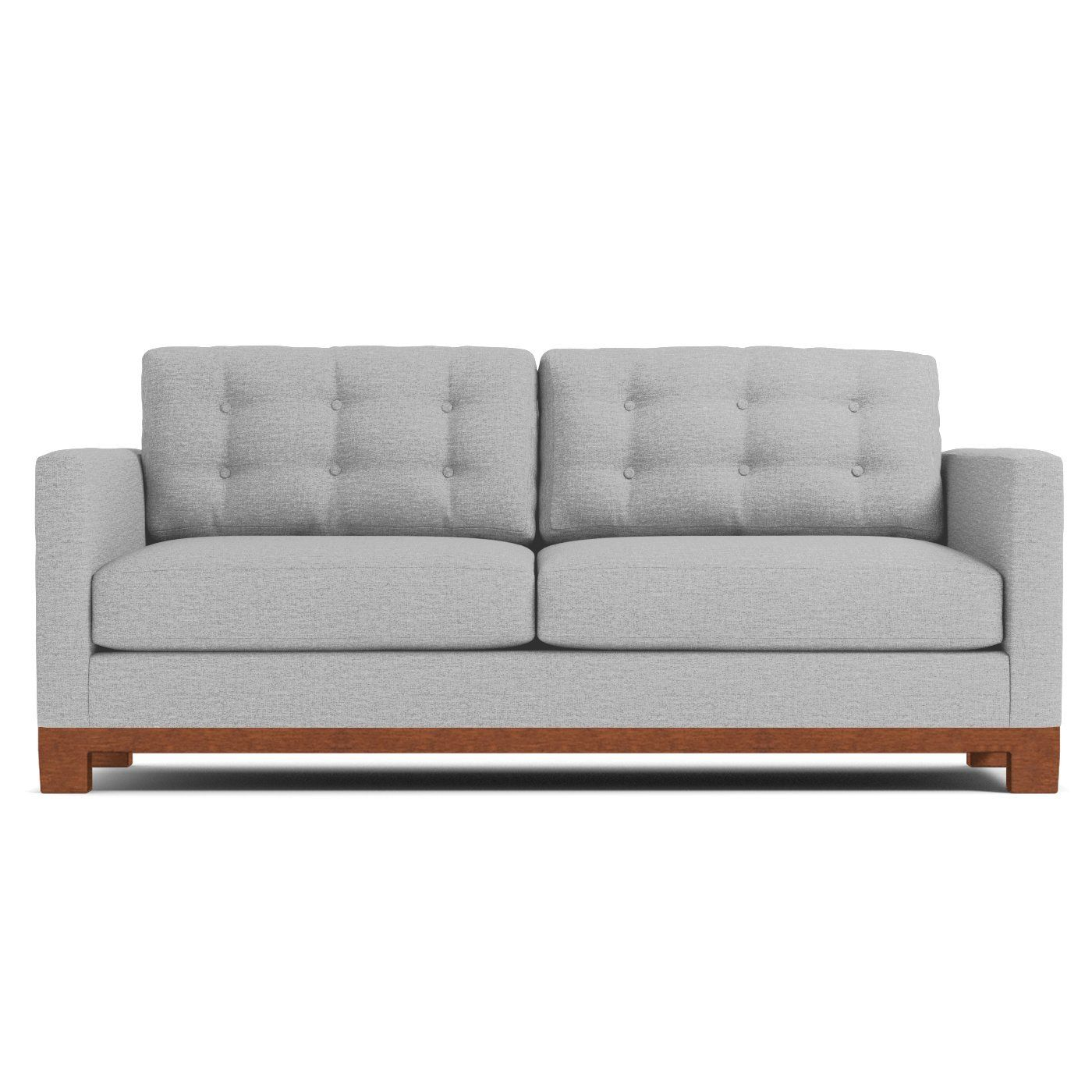 Logan Drive Sofa Leg Finish Pecan Queen Size Sleeper Sofa