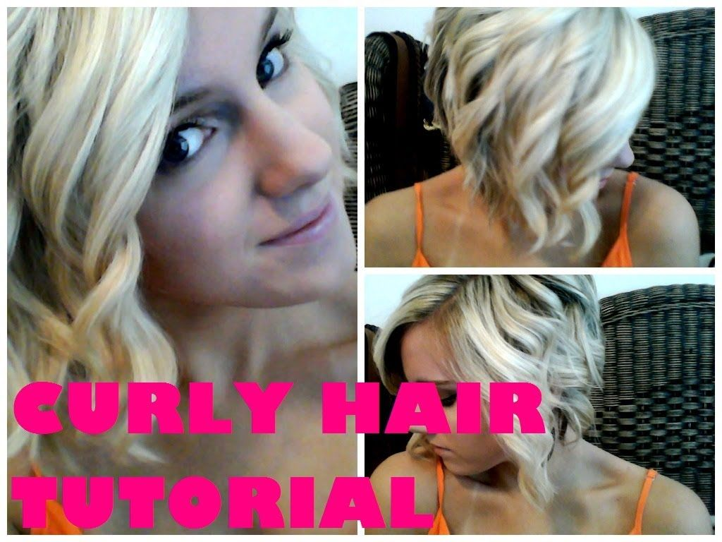 how to use a curling wand on a bob