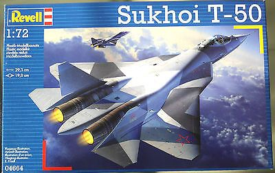 Sukhoi T-50 Revell Germany New #04664 1/72 Scale Russian Jet