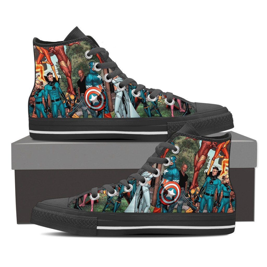 Marvel Hero High Top   Shoes   Marvel