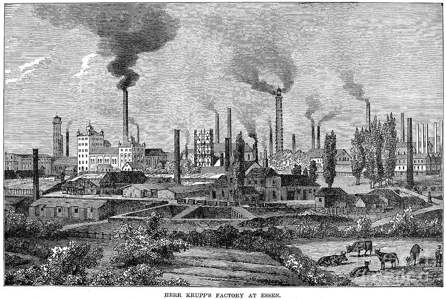Germany Krupp Steelworks Photograph Germany Krupp Steelworks