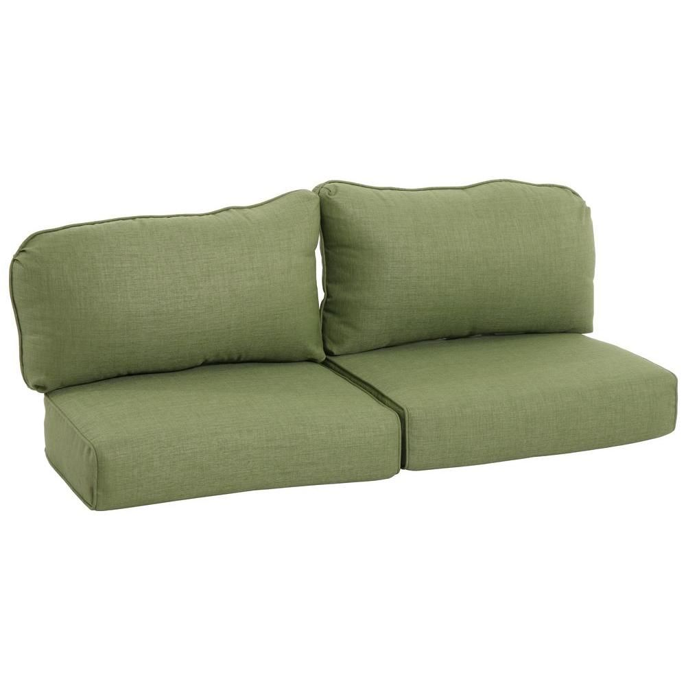 Martha Living Lily Bay Lake Adela Cilantro Replacement Outdoor Loveseat Cushion