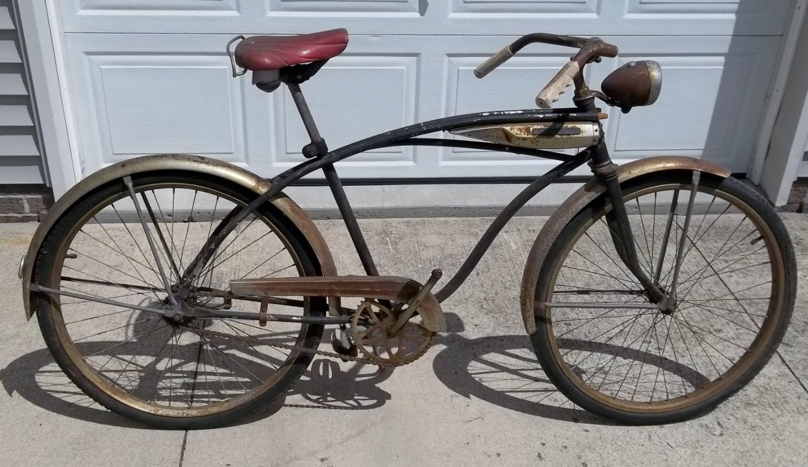 Vintage Antique Huffy Bicycle