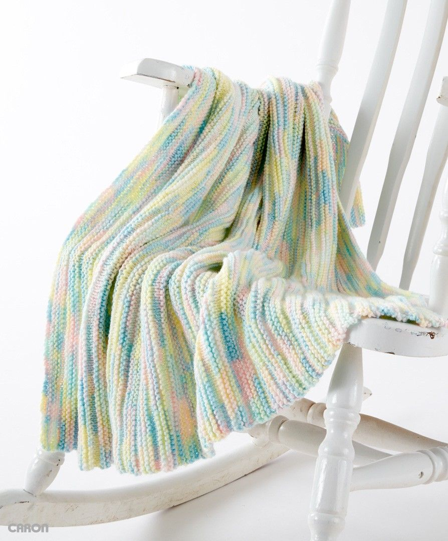 Little Ridges Baby Blanket   BABYS CROCHETED AND KNITTED AFGHANS ...