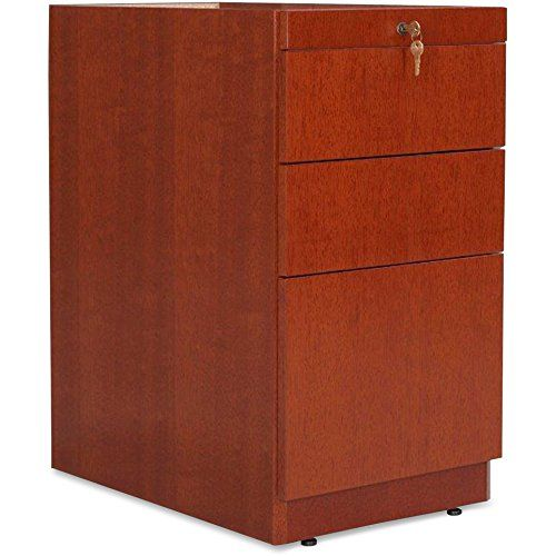 Lorell Pedestal Desk Box Box File 15 3 4 By 22 By 27 1 2 Inch Mahogany Archiveros