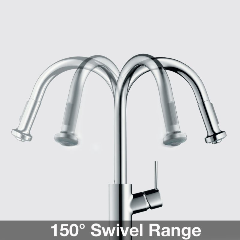 Talis S Pull Down Kitchen Faucet With High Arc Spout, Magnetic Docking,  Non Locking Spray Diverter   Includes Lifetime Warranty. Kitchen FaucetsSink