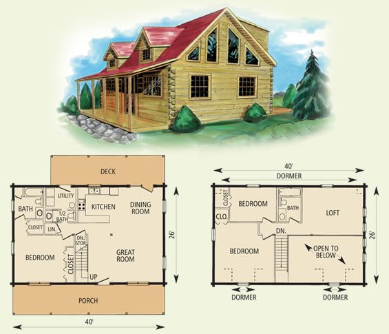 Mount Vernon Log Home And Log Cabin Floor Plan Perfect