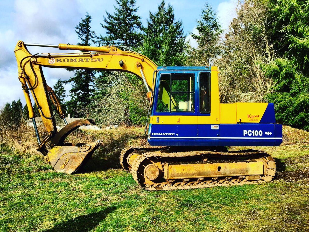 Hydraulic Excavator · Repair Manuals · BEST KOMATSU PC100-6, PC120-6,  PC120LC-6, PC130-
