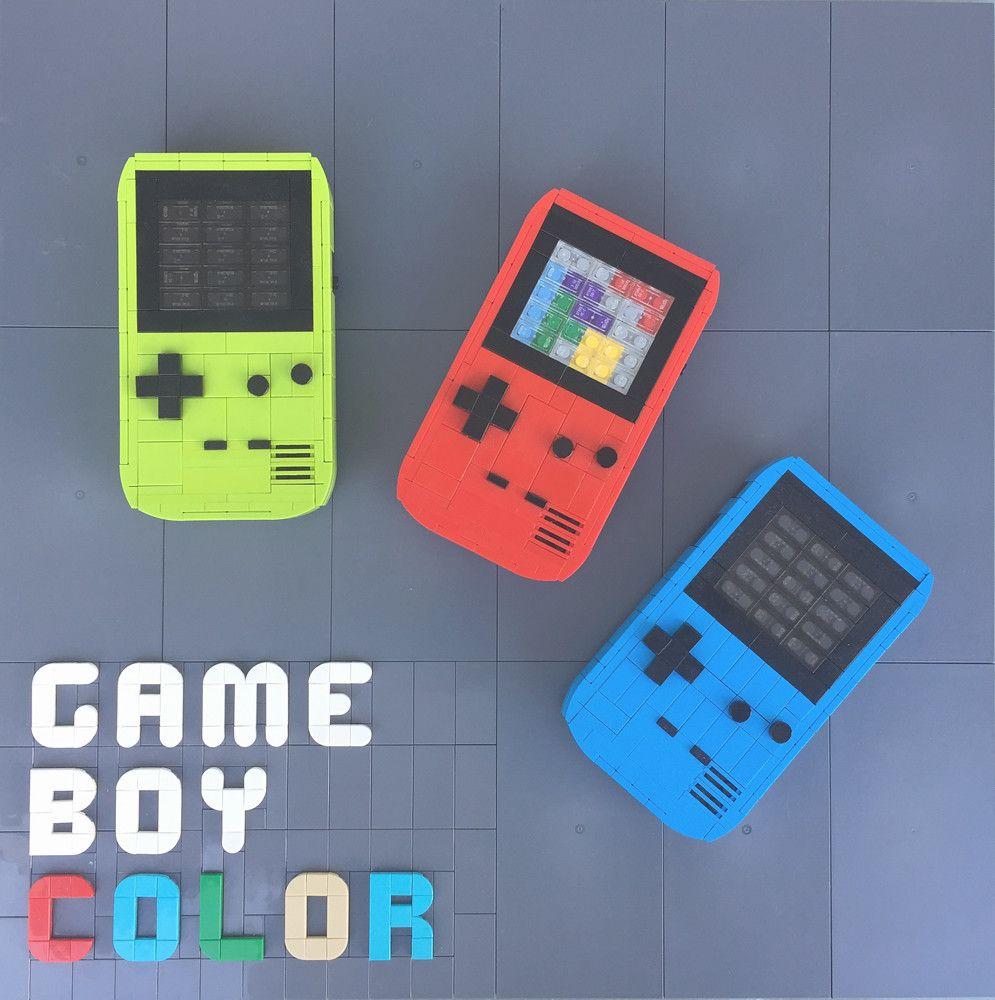 Game Boy Color Gameboy Lego Videos Cool Lego