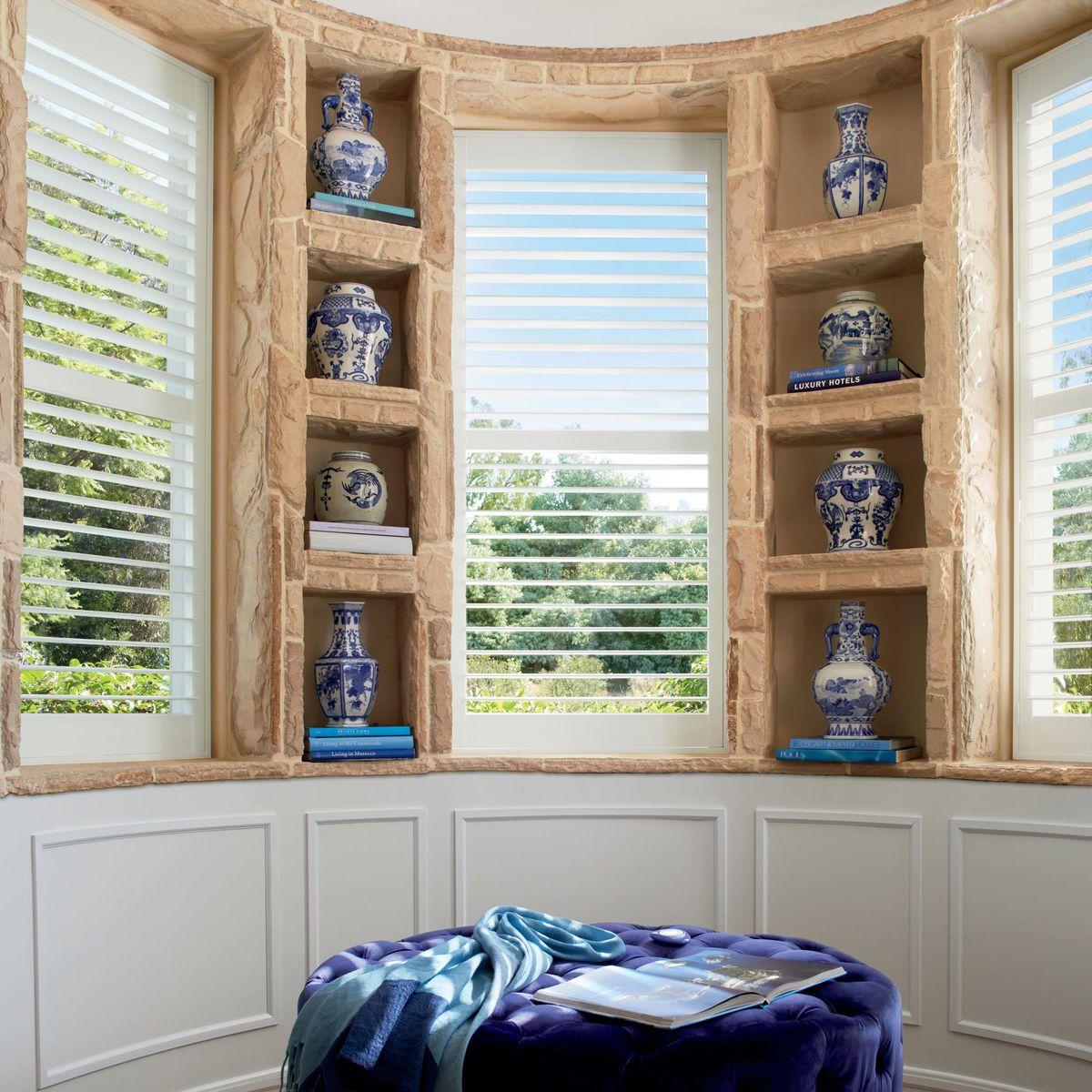 Creating Balance Window Treatments Window Design Interior Shutters