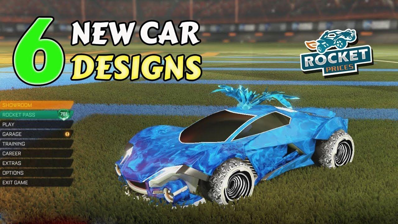 Pin On Rocket League Car Designs