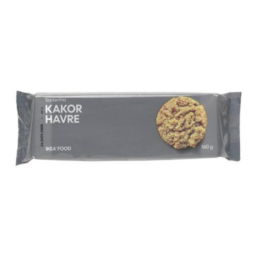 KAKOR HAVRE Haferkekse IKEA Ein zuckerfreies Hafergebäck. Lecker zu Kaffee oder Tee oder einfach zwischendurch.