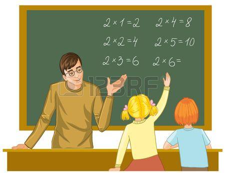 Stock Photo | Учитель, Дети и Иллюстрации