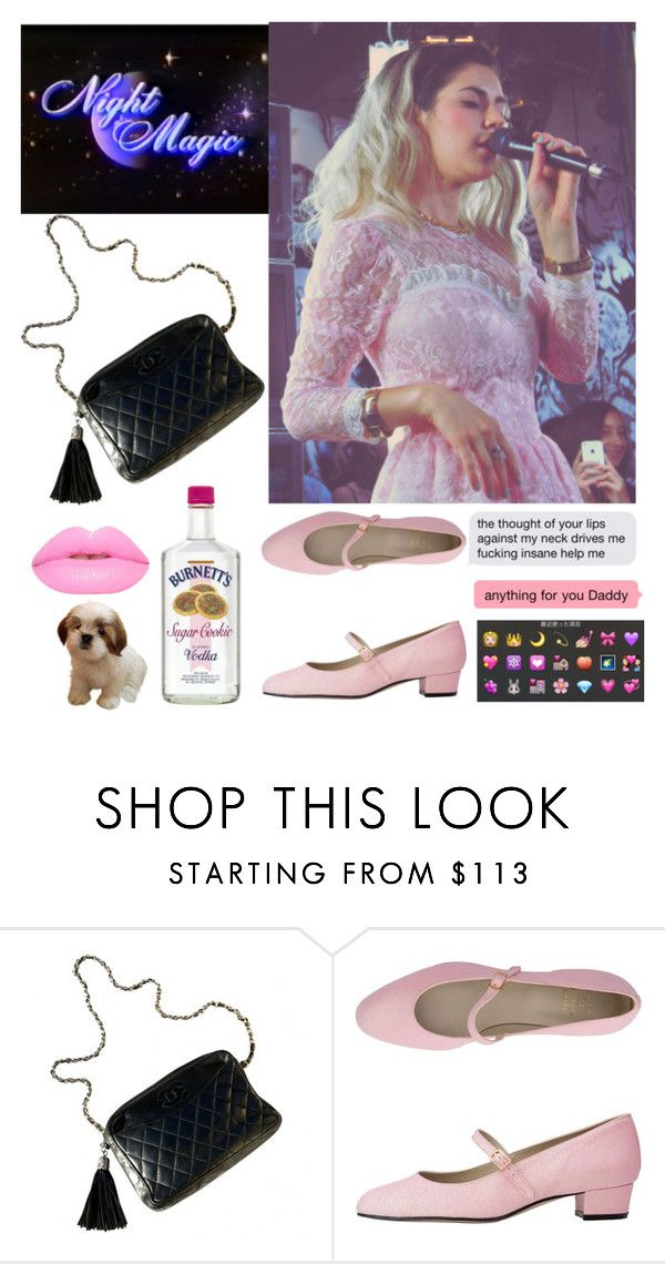 """♡♡♡"" by tullerne ❤ liked on Polyvore featuring moda, Chanel y Lime Crime"