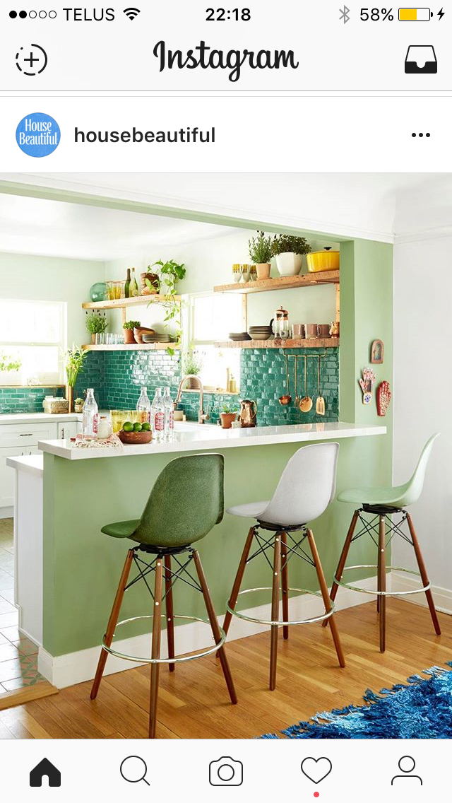 Pin di Marie su Homee nel 2019 | Cucine colorate, Piastrelle ...