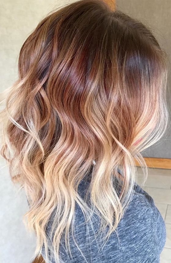 Top 10 Spring Brown Ombre Colors For 2018 Hairstyles Pinterest Colour And
