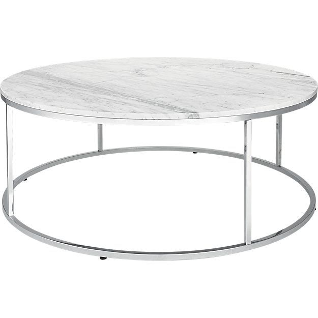 Smart Large Round Marble Top Coffee Table Marble Top Coffee Table - Cb2 round marble table