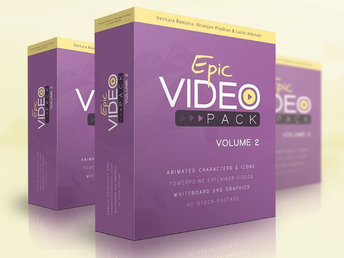 Epic Video Pack Vol 2 By Lucas Adamski Review High Quality Bundle With 700 New Video Assets To Create Highly Profit P Internet Marketing Software Epic Video