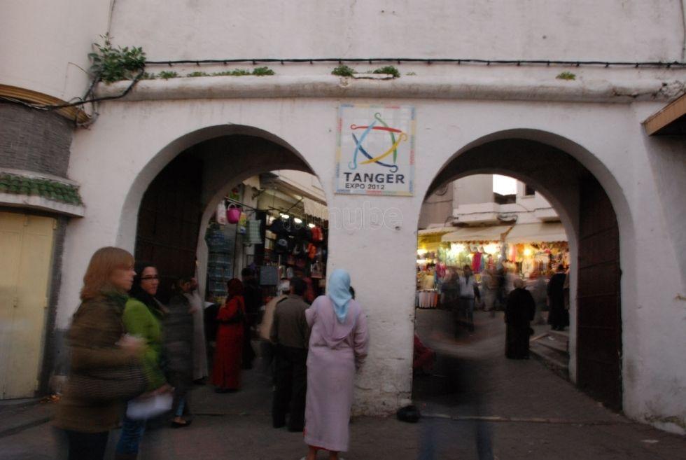 Puertas De Entrada Al Gran Zoco De Tanger Street View Views Street