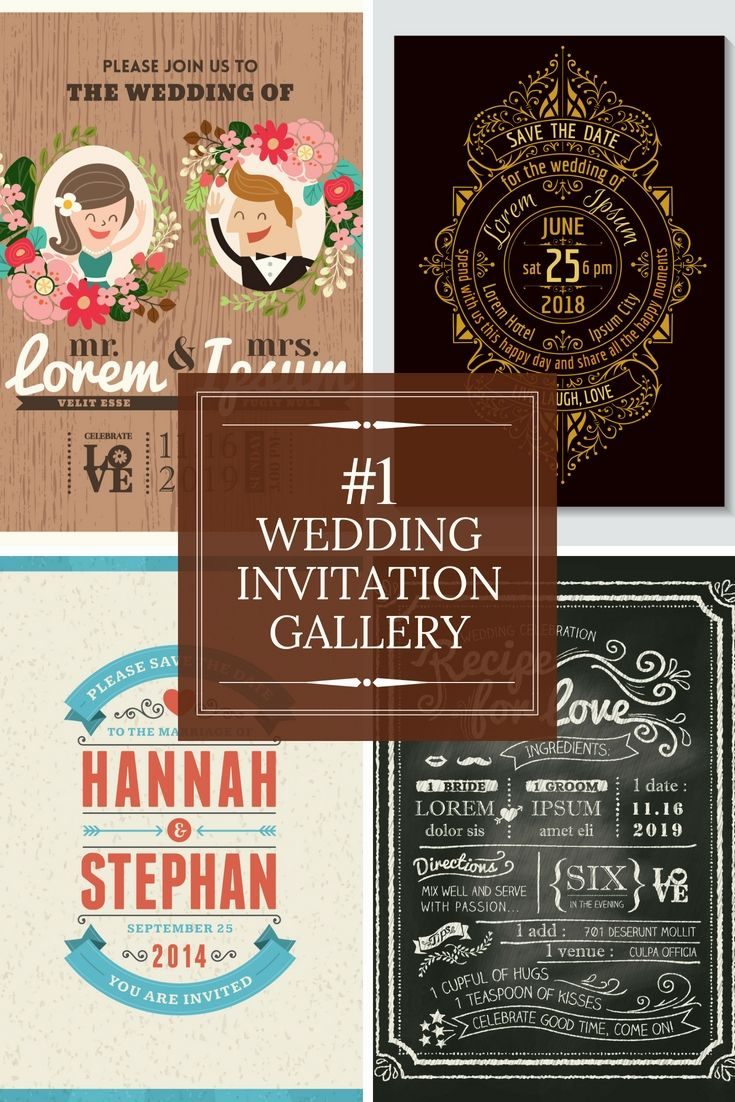 Free Wedding Invitation Cards Examples Begin Making Your
