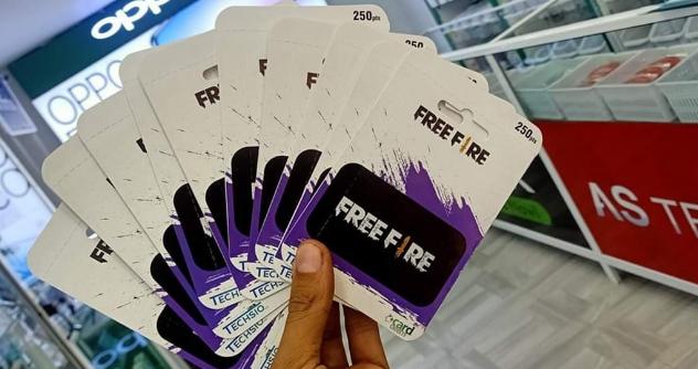 شحن فري فاير عن طريق قسائم غارينا 2020 Cards Father Free